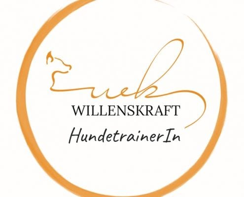 Zertifizierungs-Button Trainer mit Willenskraft